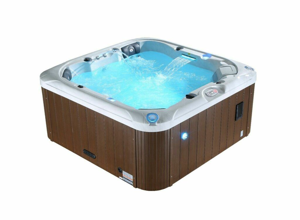 Canadian spa hot tub image