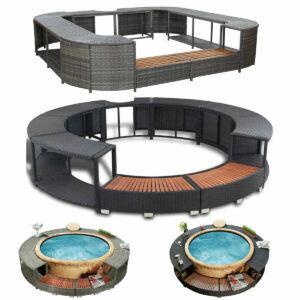 Hot Tub furniture sets Images